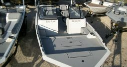 2018 SeaArk Procat 240 in white with sharkskin interior