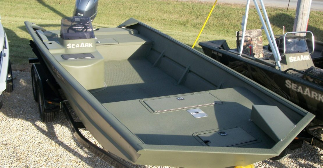 2018 seaark 2072fx sc in od green cooks boats for Green boat and motor